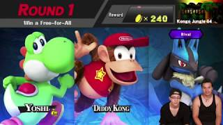BATTLE OF THE DUDES (Classic) [Super Smash Bros Wii U]