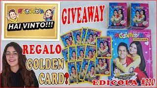 ME CONTRO TE vi Regalo GOLDEN CARD? apro BUSTINE e ALBUM delle figurine
