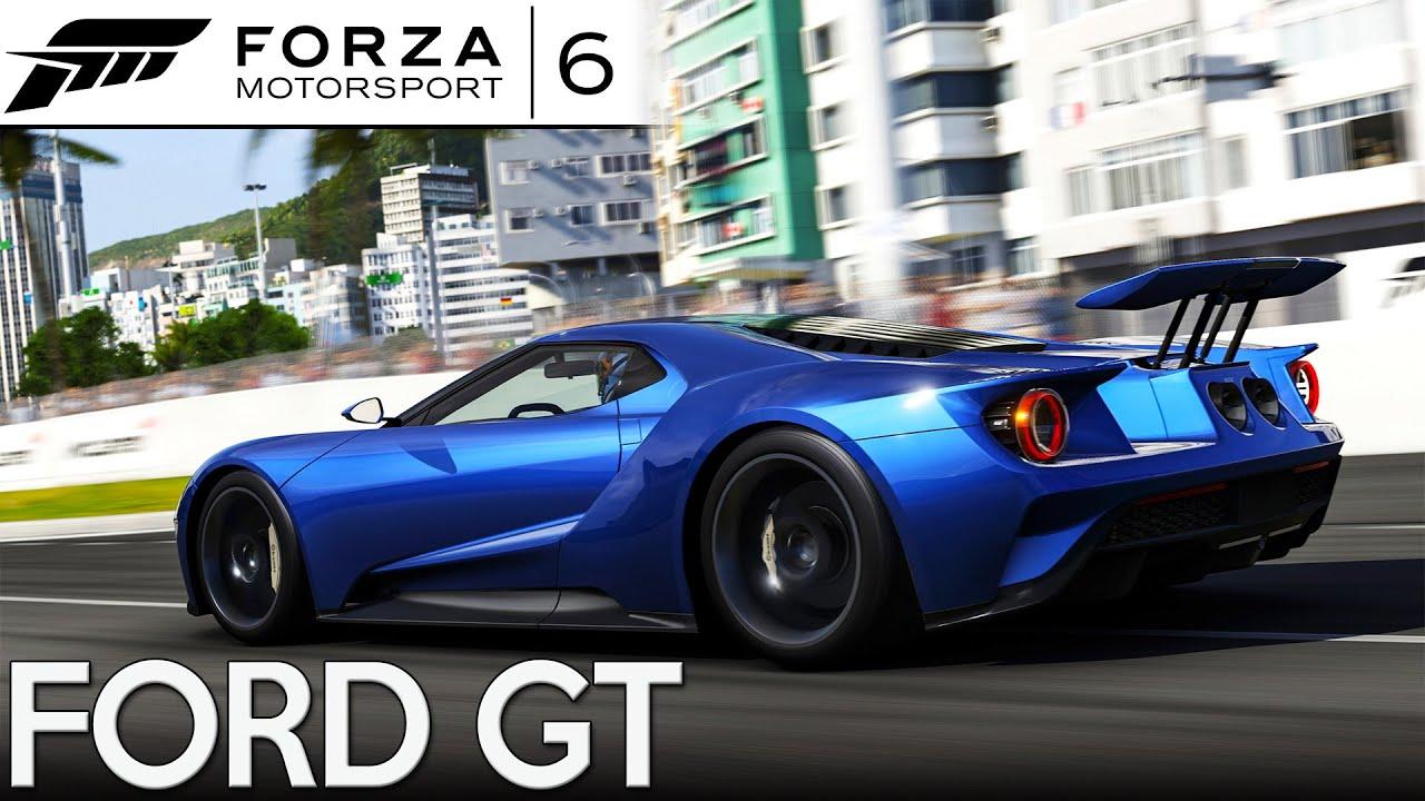 Forza 6 ford gt 2016 rio de janeiro youtube