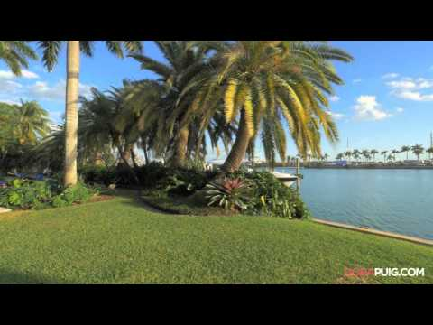Palm Island Waterfront Estate - 16 Palm Avenue, Miami Beach Luxury Home