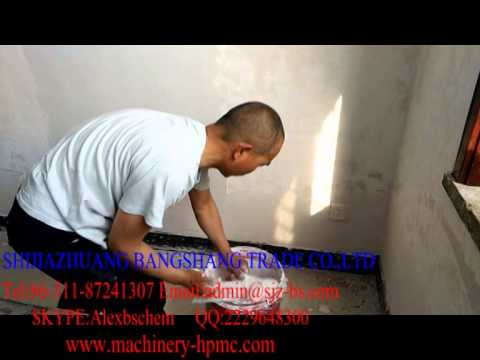 HPMC To be used in wall putty