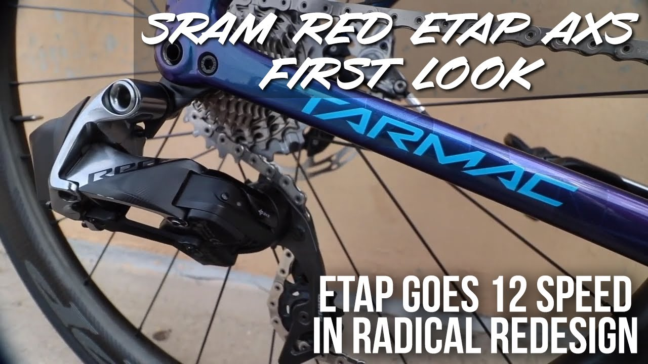 Review: SRAM Red eTap AXS First Ride Review | road cc