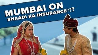 Searching for Shaadi ka Insurance on the streets of Mumbai Ft. Mark & Divya l Bakkbenchers