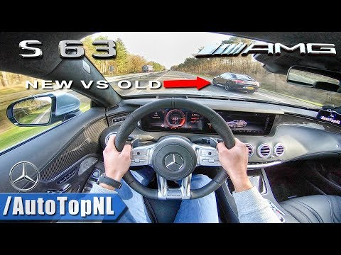 S63 AMG COUPE 612HP Vs 585HP S63 AMG COUPE | AUTOBAHN POV | OLD Vs NEW By AutoTopNL