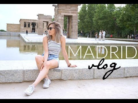 TRAVEL VLOG: 3 days in Madrid, Spain | 26 Days in Europe Trip: Ep 2