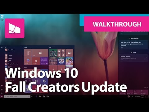 Windows 10 Fall Creators Update - Official Release Demo