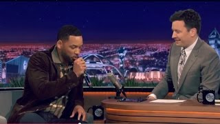 Will Smith & Jimmy Fallon BeatBox ''It Takes Two'' Using Ipad App  {Review}