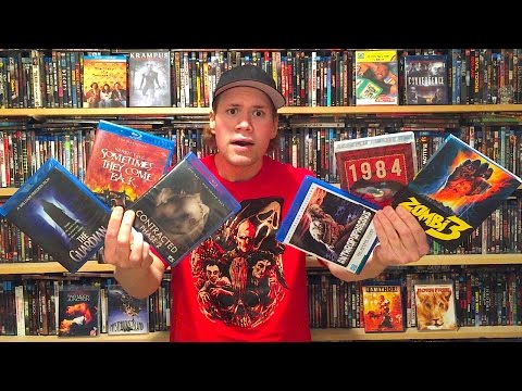 My Blu-ray Collection Update 1/9/16 : Blu ray and Dvd Movie Reviews
