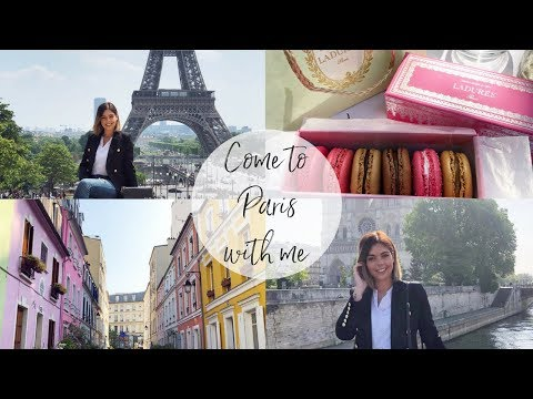 COME TO PARIS WITH ME | TRAVEL VLOG | Emma Mumford