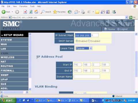 SMC Networks 7904wbra2 LAN.avi