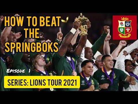British & Irish Lions - SA Tour - How To Beat The Springboks  (Ep.1)  #Rugby #Springboks #LionsTour