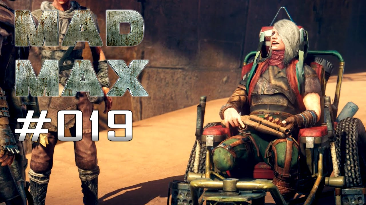 MAD MAX | ★ Part #019 - Rauch zieht auf | Pink Eye [60FPS | Uncut] Let's Play Mad Max