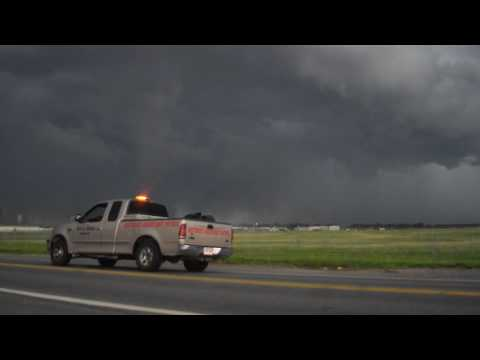 7/14/16 Severe Weather - Clinton Airport - Little Rock, Arkansas -  pt.1