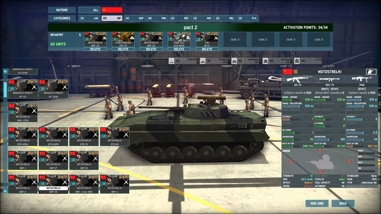 wargame airland battle units which i use when i play as