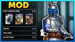 Jango Fett Hero Mod Gameplay - Star Wars Battlefront 2 Mod Showcase