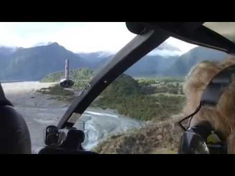 Air West Coast Glacier Landing Helicopter Option