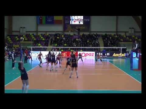 Magdalena Gryka SETTER Challenge Cup 2017-2018 nr 5 navy blue shirt