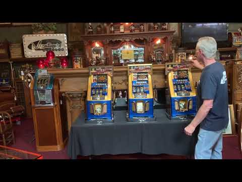 1948 MILLS Hi-Top Slot Machine Set From The Golden Nugget Casino In Las Vegas FOR SALE $19,995