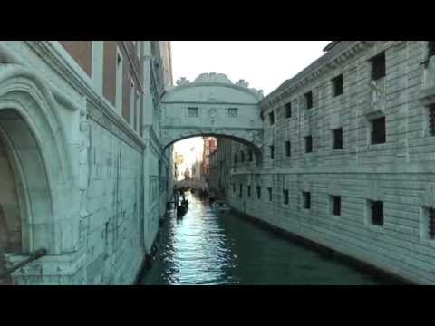 Doges' Palace and Bridge of Sighs Venice Italy