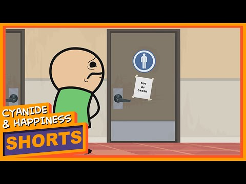 Out Of Order Cyanide Happiness Shorts Youtube