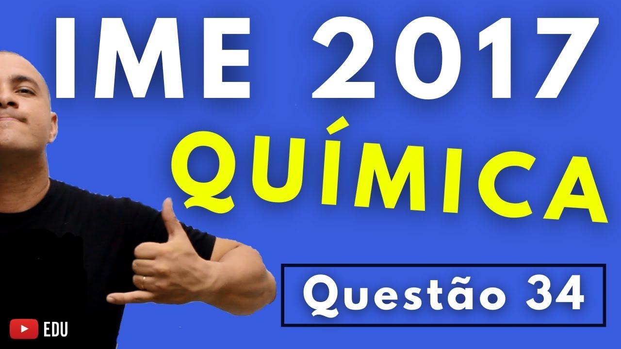 IME 2017 - Questão 34 - QUÍMICA - Prova Objetiva - Tema: HIBRIDIZAÇÃO E ESTRUTURA DE ÍON