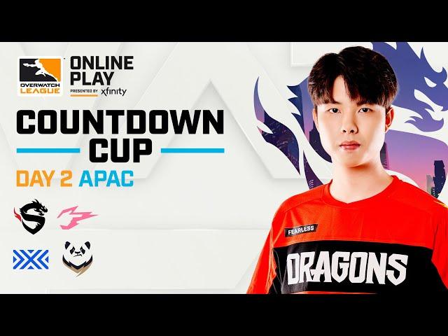 Overwatch League 2020 Season | Countdown Cup | APAC Day 2