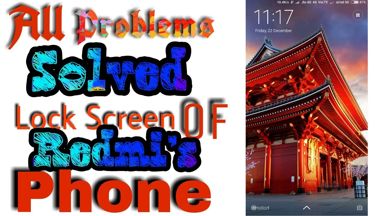 How To Change Wallpaper Carousel In Mi Phones And Solve Some