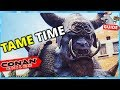 CONAN EXILES Frost Giant Tame! How to? Is It Worth It?