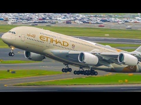 16 ROARING Sydney Take Offs! | A380 B747 B777 A330 B787 | Sydney Airport Plane Spotting