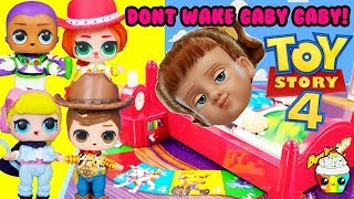 Don't Wake Gabby Gabby LOL Surprise Toy Story 4 Game Toy Surprises
