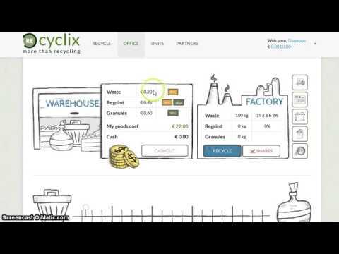 RECYCLIX  20 euros bonus of 100% for free