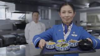 """Anytime For You"" meals on flights to Tokyo"