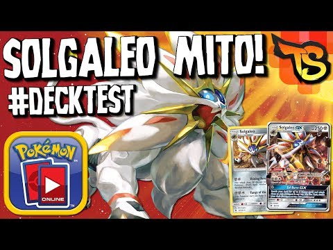 ✪ Pokémon TCG - Solgaleo MITO! (Campeão Regional Indonésia) #DECKTEST
