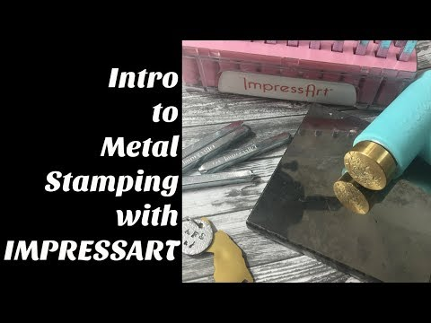 Intro To Metal Stamping with IMPRESSART