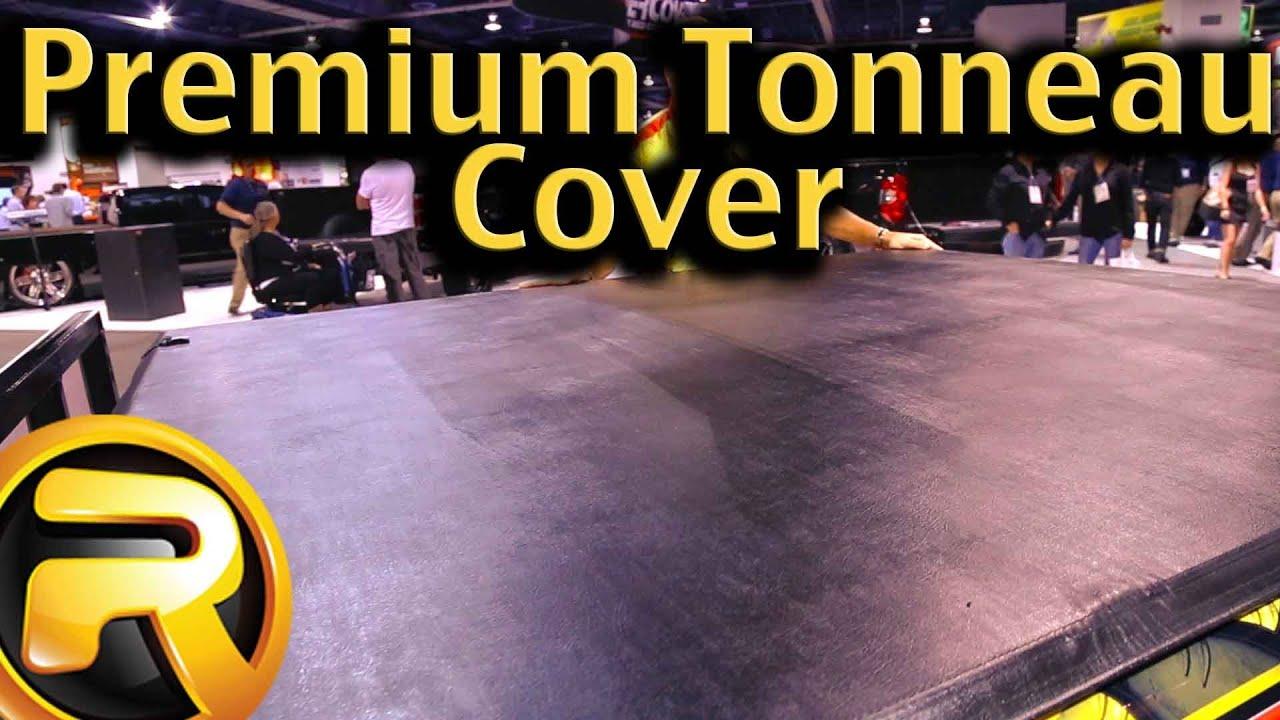 Rugged Liner Premium Tri Fold Tonneau Cover Youtube