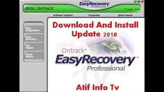 How Download And Install Easy-Recovery  Pc Software 2018