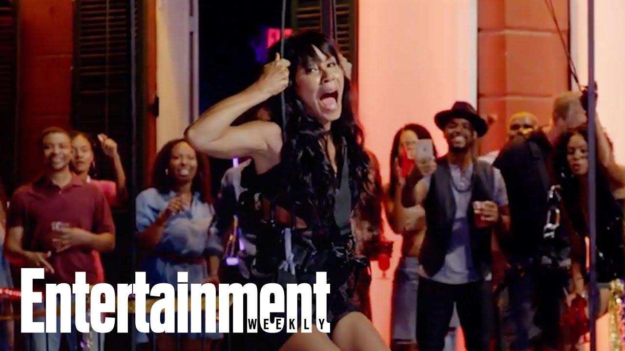 Girls Trip's Jada Pinkett Smith: What It Was Like Peeing Over Bourbon  Street | Entertainment Weekly