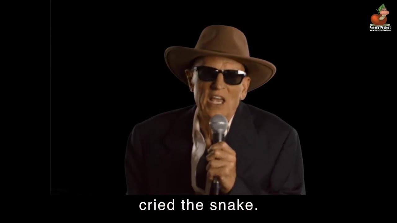 THE SNAKE - A Parody | Lyrics by Greg Trafidlo - Performed by Don Caron