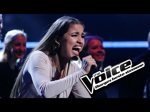 Kaja Rode - Golden Slumbers / Carry That Weight | The Voice Norge 2017 | Live show