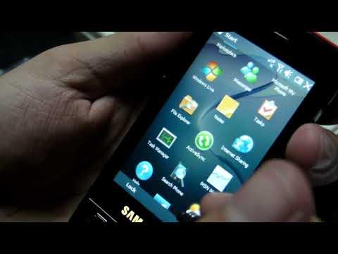 Samsung B7300 OmniaLITE Hands on - www.TelefonulTau.eu -