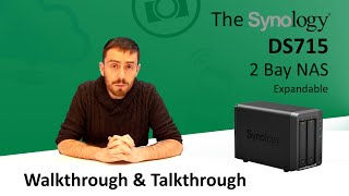 The Synology DS715 - Walkthrough and Talkthrough with SPANTV