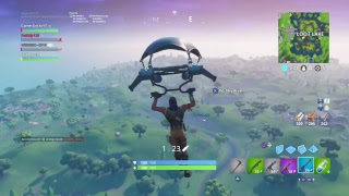 I am a Girl playing some Fortnite