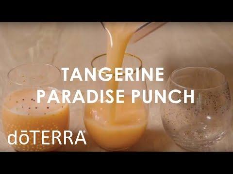 delicious,-refreshing-tangerine-paradise-punch-using-tangerine-essential-oil