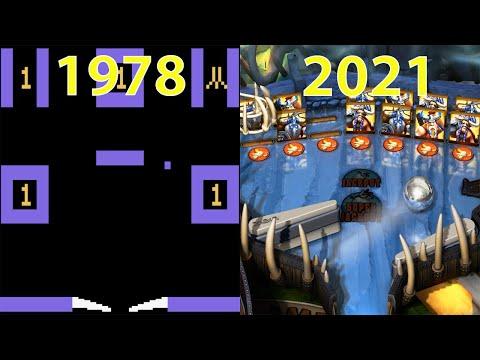 Evolution of Pinball Games 1978-2021 |