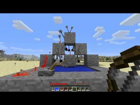 Automatic Arrow Bomb - Minecraft Tutorial