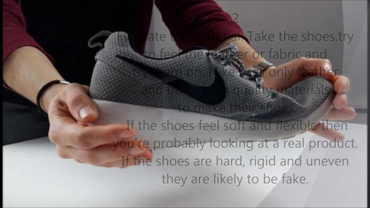 How to Identify Original Nike Shoes