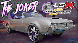 THE JOKER :PROCHARGED LSX CUTLASS 442 - Built By Ultimate Audio (Carolina Panthers DE Mario Addison)