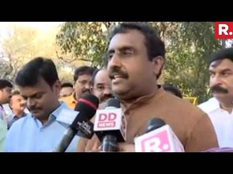Ram Madhav Speaks To Media After Amit Shah Meeting Andhra BJP Leaders