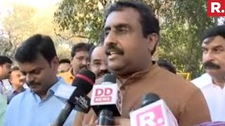 Ram Madhav Speaks To Media After Amit Shah Meeting Andhra BJP Leaders