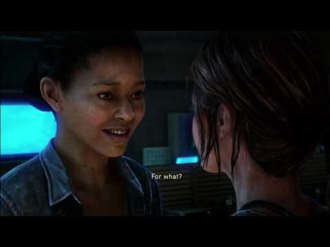 The Last of Us: Left Behind - Kiss Scene